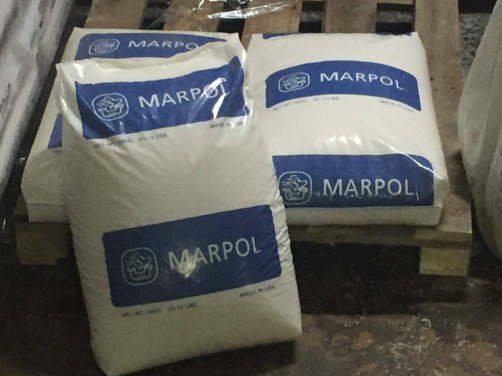 Мешок с полиэтиленом марки  MARPOL